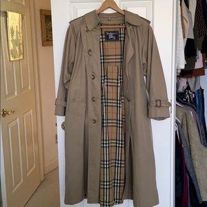 Burberrys vintage trench coat